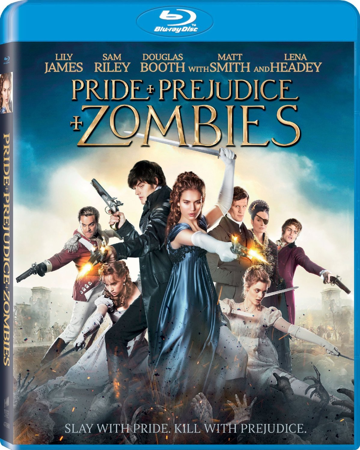 Pride + Prejudice + Zombies (2016) Blu-ray