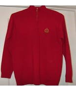 Ralph Lauren red sweater with top zipper new wo... - $12.00