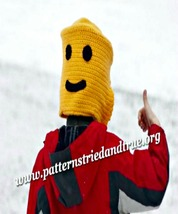 Crochet Lego Man Hat Pattern, Makes child look ... - $4.99