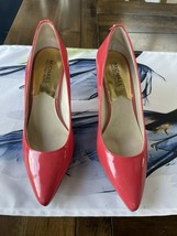 michael kors patent leather pumps coral reef 8 - $46.74