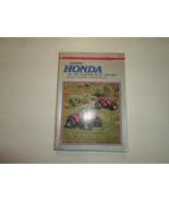 1970 1987 Clymer Honda ATC TRX FOURTRAX 70-125 Service Repair Maintenanc... - $49.49