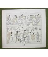 GREEK WOMEN Fashion Toilette Hairstyle- (3) Thr... - $17.82