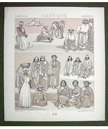 INDIANS South America Natives Chile Buenos Ayre... - $9.90