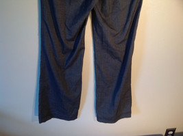 Larry Levine Women's Size 4 Casual Pants Dark Gray Weave Straight Leg w/ Pockets image 7
