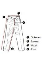 Larry Levine Women's Size 4 Casual Pants Dark Gray Weave Straight Leg w/ Pockets image 6