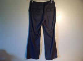 Larry Levine Women's Size 4 Casual Pants Dark Gray Weave Straight Leg w/ Pockets image 4