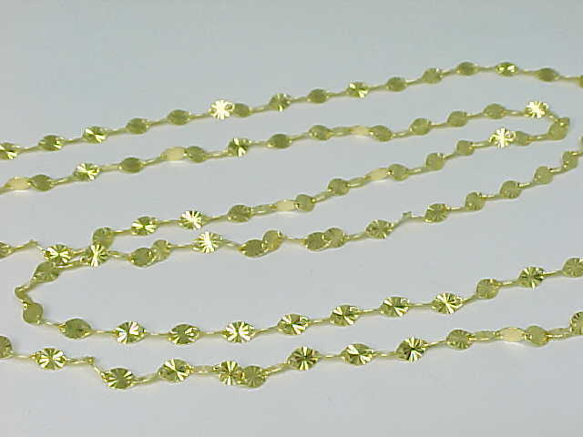 Primary image for DANECRAFT 30 inches Gold Vermeil STERLING LINK CHAIN NECKLACE-Made in ITALY-NWT