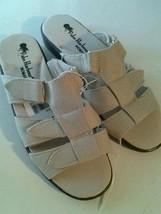 NEW Palm Harbour Women's Sandals Tan Size 5 Velcro Summer Casual Open Toe - $10.17