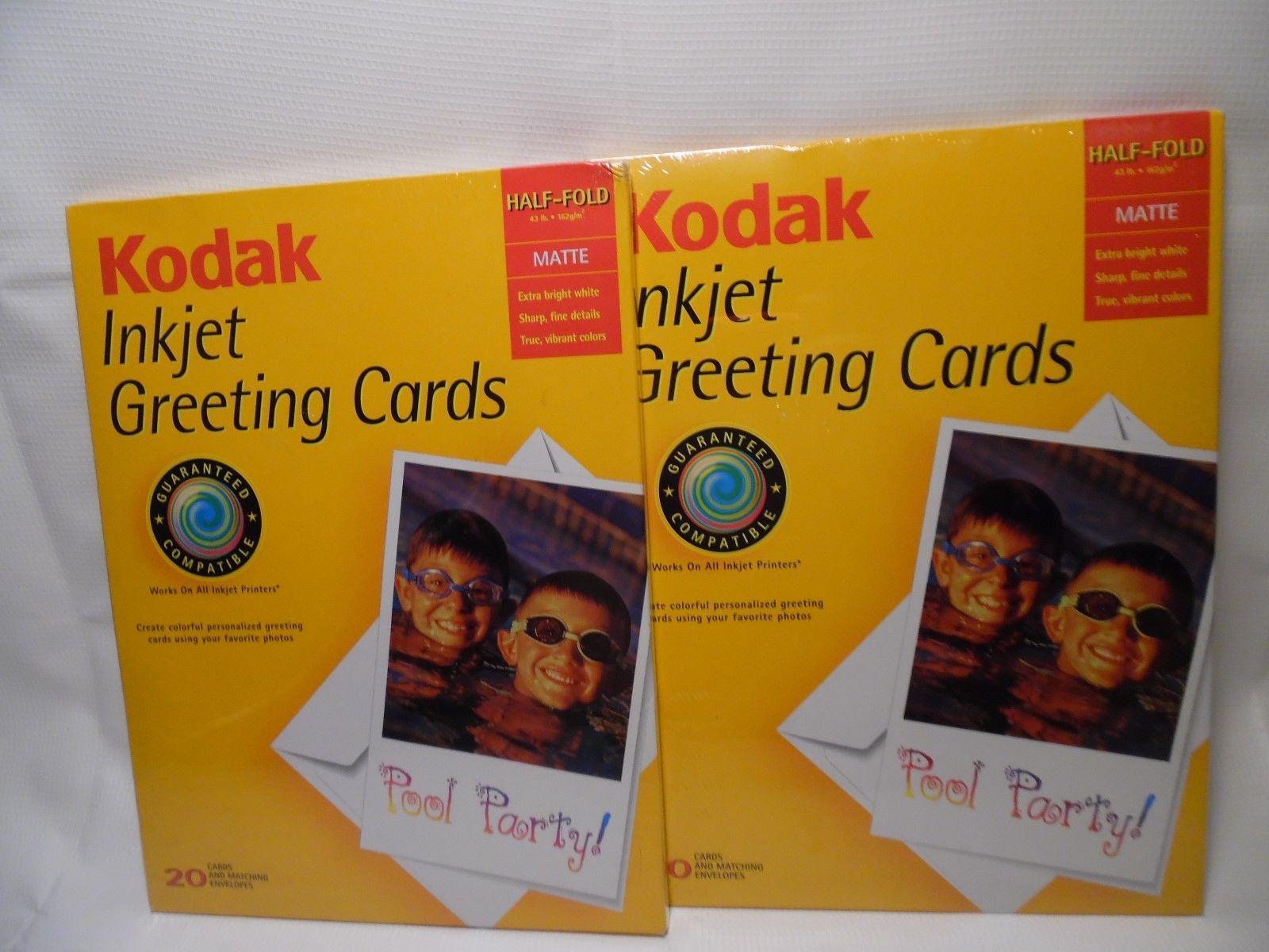 New sealed kodak inkjet greeting cards and 50 similar items inkjet greeting cards and 50 similar items s l1600 m4hsunfo