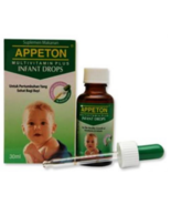 Appeton Multivitamin Plus Infant Drops to Increase Baby Appetite 30ml - $28.90
