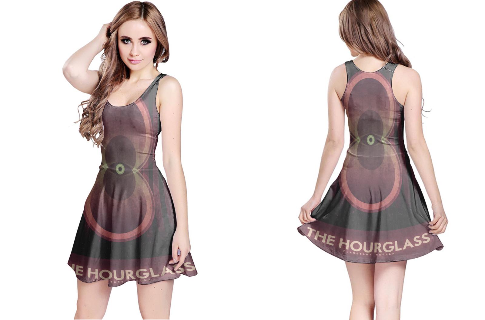 Planetary nebula the hourglass reversible dress