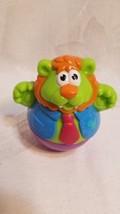 Playskool 2003 Weeble Wobble LION Hasbro Toy Figure  - $8.90