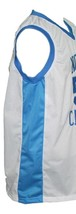 Michael Jordan #23 College Basketball Jersey Sewn White Any Size image 4