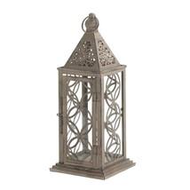Backyard Lanterns, Small Eclipse Hanging Metal Decorative Patio Outdoor ... - $34.39