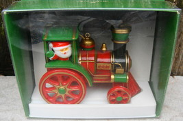 Vtg 1980 Hallmark Santa's Express Train Tree Trimmers Yesteryears Christ... - $19.50