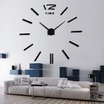 3D Big Wall Sticker Clock DIY Home Decor - $12.57