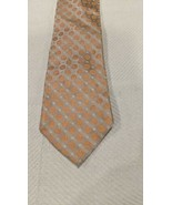 Calvin Klein Men's Neck Tie Slim Silk Plaid Geometric - $9.89