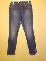 Rock & Republic Berlin Denim Blue Jeans - Split Hem - Medium Wash - 6 M