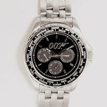 """James Bond """"007"""" Fossil New Unworn Limited Edition, Metal/Rubber Band Watch $189 - £142.98 GBP"""