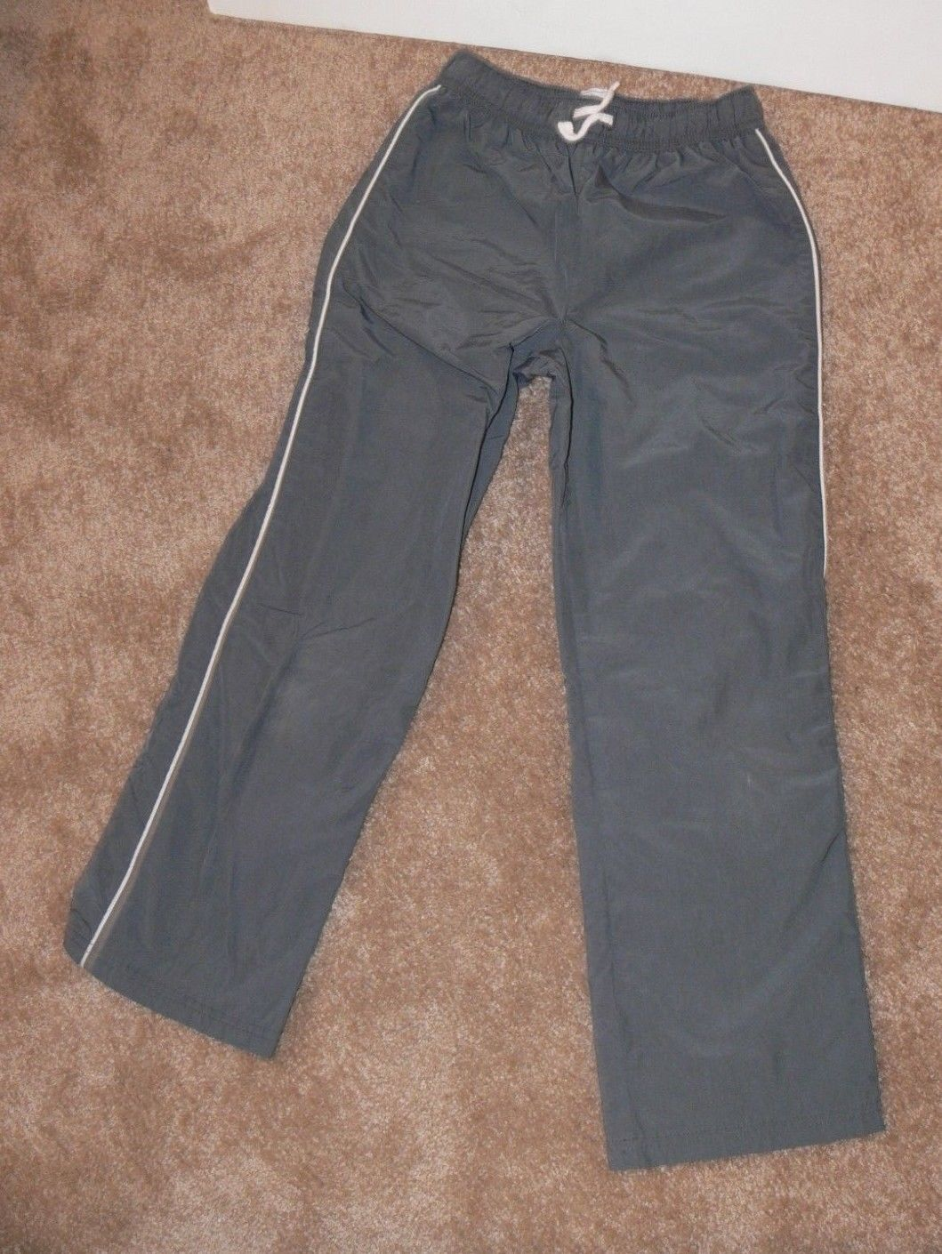Primary image for Children's Place GRAY DRAWSTRING ATHLETIC Pants Size M 7/8 ek