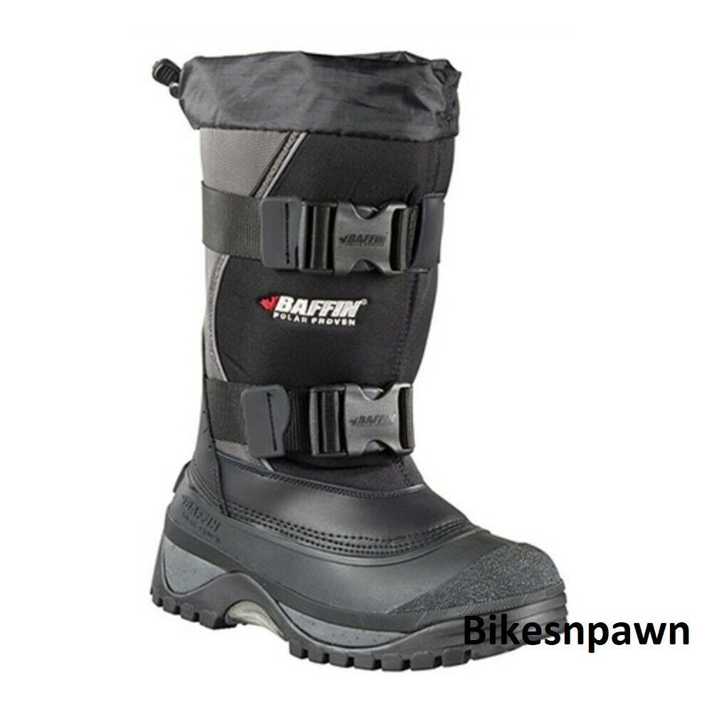 New Mens Size 10 Baffin Wolf Snowmobile Winter Snow Boots Rated -40 F