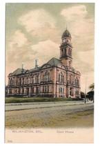 Court House Wilmington DE Vtg Paul C Koeber PCK Series Chromo Litho UDB Postcard - $9.99