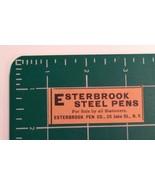 1889 Esterbrook Steel Pens Advertisement New York - $20.00