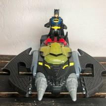 Fisher Price Imaginext DC Comics Batman Toy Figure Batwing Glider Car Ve... - $22.49