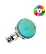 Mojo Vintage Bohemia Retro Color Change Perfect Antique Silver Plated Ri... - $13.94