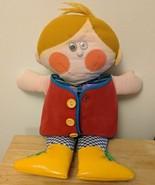 """Vintage 1970 Playskool Dapper Dan Big 18"""" Tall Teaching Doll - $30.00"""