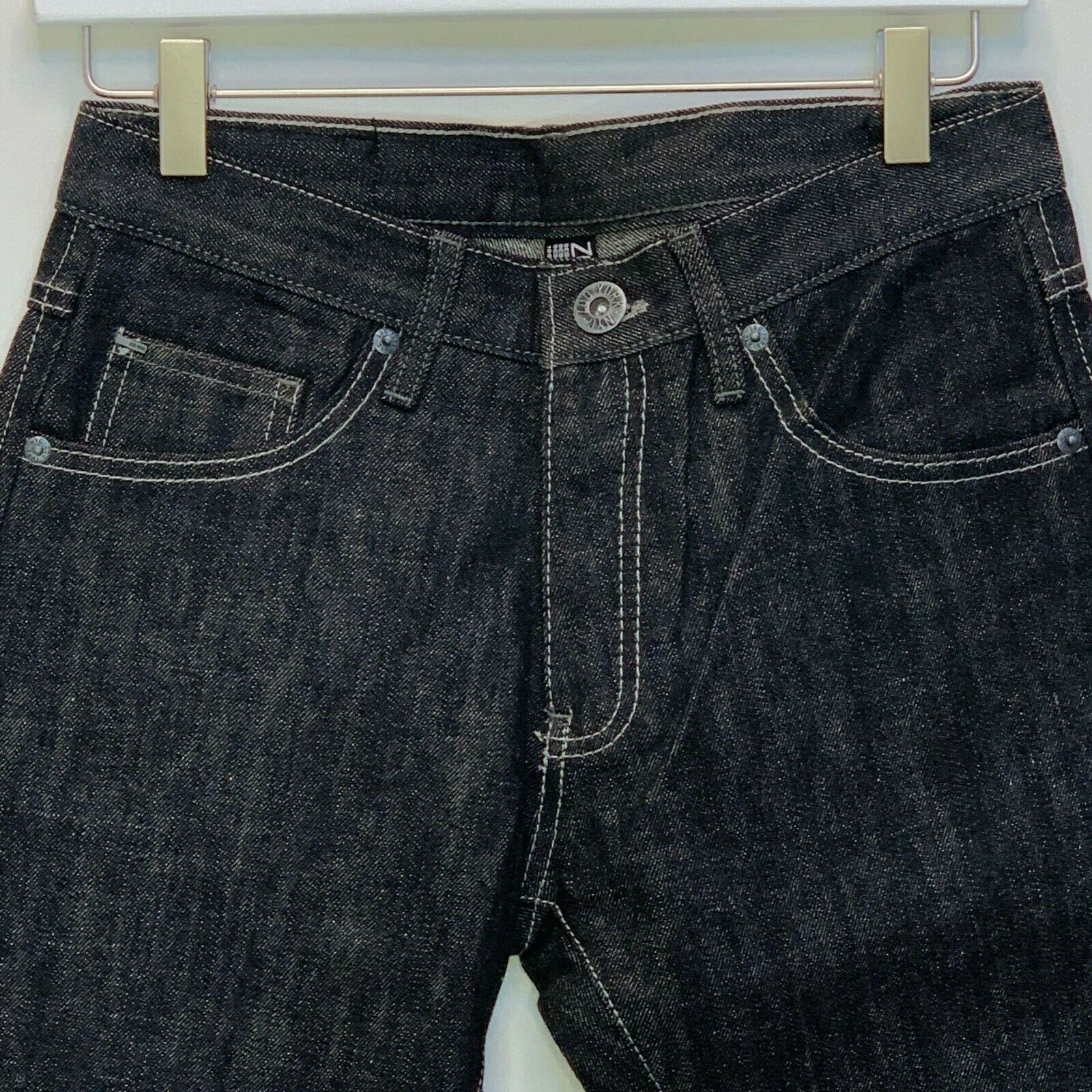 Primary image for Zoo York Boys Solid Black Jeans Size 14 NWOT