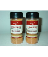 Longhorn Steakhouse Signature Grill Seasoning Lot 2-2.5 oz.-Exp. 9/25-NEW - $15.79