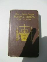 New ….Saint Joseph Sunday Missal and Hymnal 1966 - $7.79