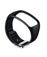 Samsung SM-R750 Galaxy Gear S Basic Color Strap ET-SR750 Black Genuine New - $36.99