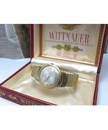 WITTNAUER LONGINE PRODUCT VINTAGE WATCH 1950'S 10K GF APEX BOX - $279.57