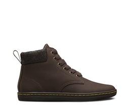 Dr Martens Maelly Alberta Split Boots 10 Dark Brown Leather Air Wair New... - $46.39