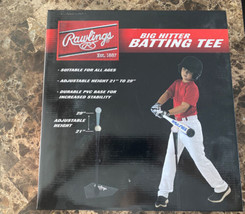 Rawlings Big Hitter T-Ball Batting Baseball Aid-Adjustable Youth Batting... - $19.79