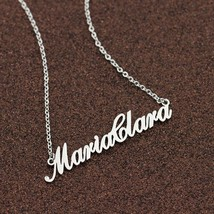 Name Necklace Custom Jewellery Stainless Steel - $23.99