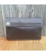 Vintage Givenchy Leather Brown Clutch Envelope Purse Bag - $40.00