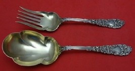 Renaissance By Dominick and Haff Sterling Silver Salad Serving Set GW 2pc - $673.55