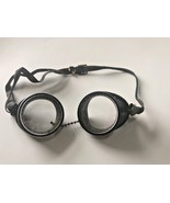 Vtg Goggles Glasses Motorcycle Driving Pilot Aviator Safety Welding Stea... - $29.69