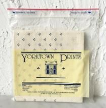 "Yorktown Prints 14 Count Cross Stitch Aida Fabric 100% Cotton 14.75"" Squ... - $4.70"