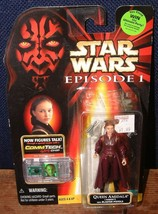 1998 Hasbro Star Wars Episode 1 Queen Amidala Action Figure W/CommTech C... - $6.92