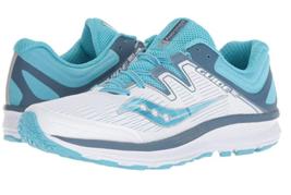 Saucony Guide ISO Sz 9 M (B) EU 40.5 Women's Running Shoes White Blue S10415-4 - $78.39