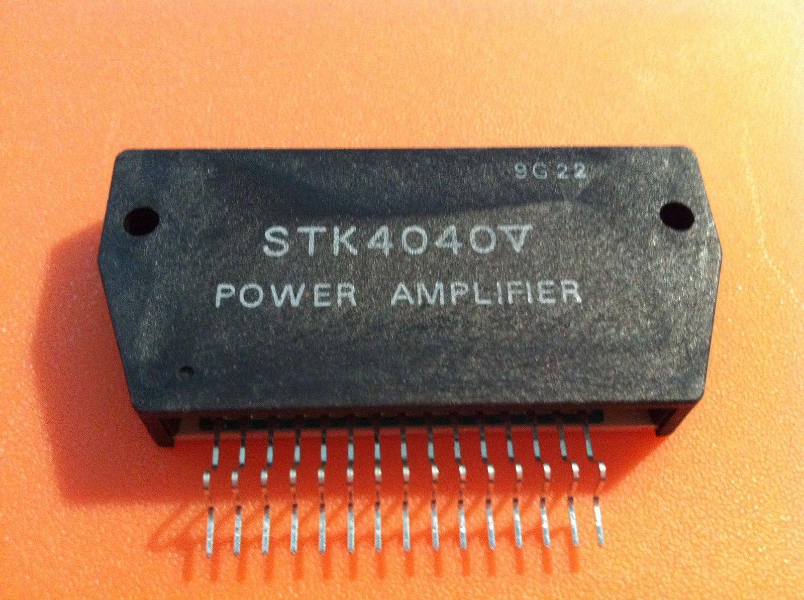 Stk4040 V Af Power Amplifier 70 W By Sanyo And 50 Similar Items 70w Fm Stk4040v Heat Sink Compound