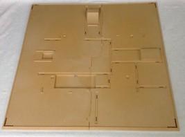 REPLACEMENT Playmobil Egyptian Pyramid # 4240 (2) Piece BASE Ground Bottom - $19.55
