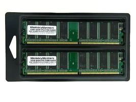 2GB 2X1GB MEMORY FOR EMACHINES T1740 T1742 T1840 T1842 T1860 T1862