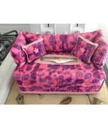 Pink Purple Lavender Tie Dye Fabric COUCH SOFA TISSUE BOX COVER Unique B... - $22.99