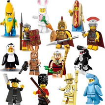 14pcs Mr Gold Shark Banana Easter Bunny Suit Guy Hot dog Rome Penguin Fi... - $25.50