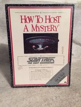 Star Trek TNG How to Host a Mystery Special Edition Game New Sealed. Party! - $24.98